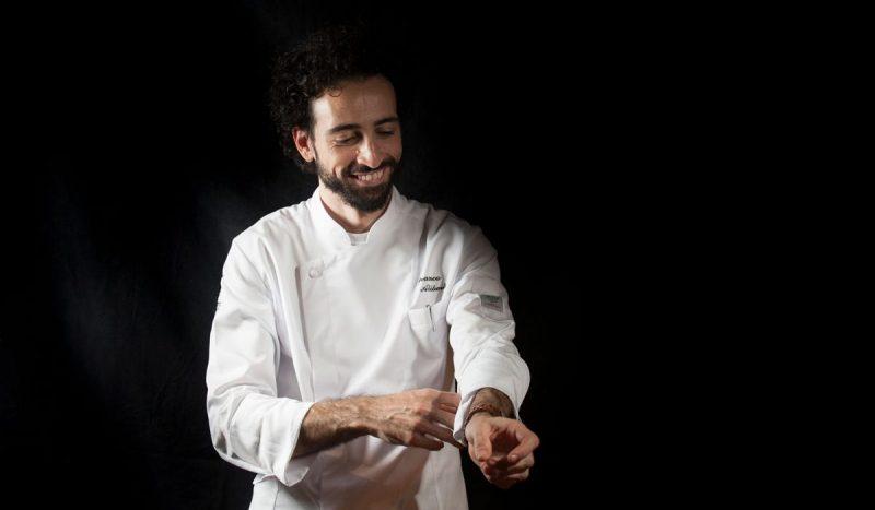 Ritratto dello Chef Franco Aliberti e dell'utilizzo consapevole degli ingredienti in cucina