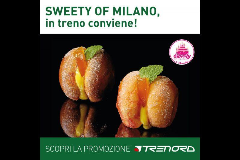 Con Trenord a Sweety of Milano: due ingressi al prezzo di uno