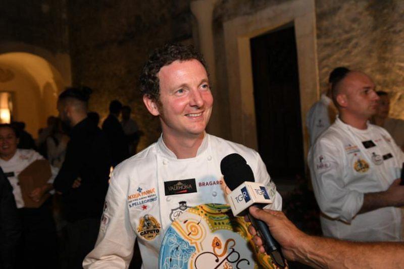 Galileo Reposo, Pastry chef di Peck, vince il Santarosa Pastry Cup