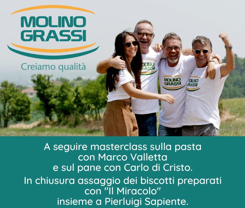 Molino Grassi a SIGEP: si svelano la nuova brand identity e  la strategia di comunicazione