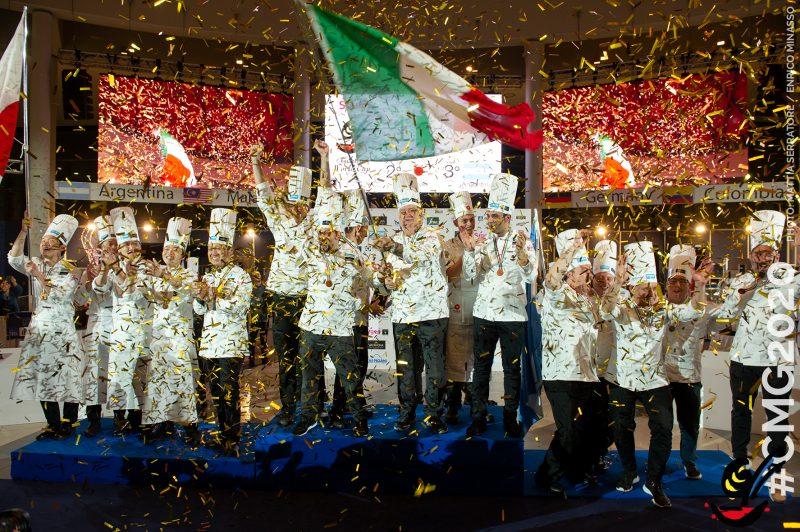 l'Italia vince la Coppa del Mondo di Gelateria 2020
