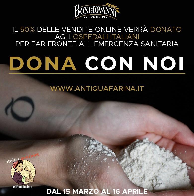 Molino Bongiovanni: dona con noi