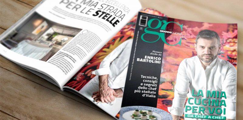 Enrico Bartolini direttore del nuovo Grande Cucina