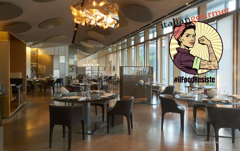 """Andrea Berton presenta i """"restaurant bond"""" i voucher da spendere domani nel suo ristorante"""