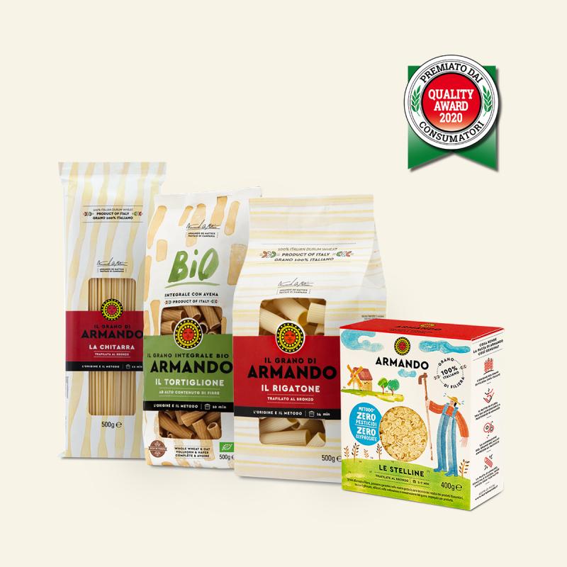 Pasta Armando si aggiudica il Quality Awards 2020