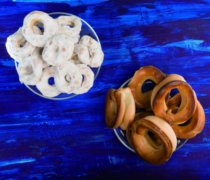 Taralli all'uovo e taralli glassati