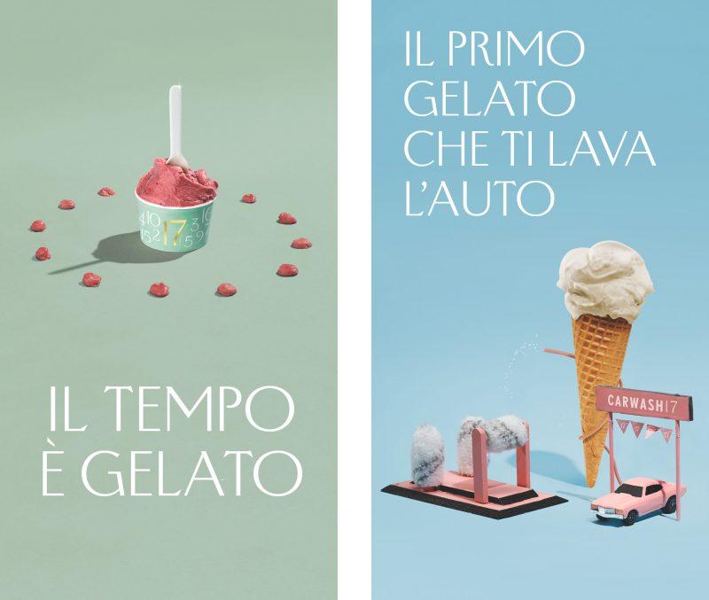 Gusto17, il primo gelato che regala il Tempo