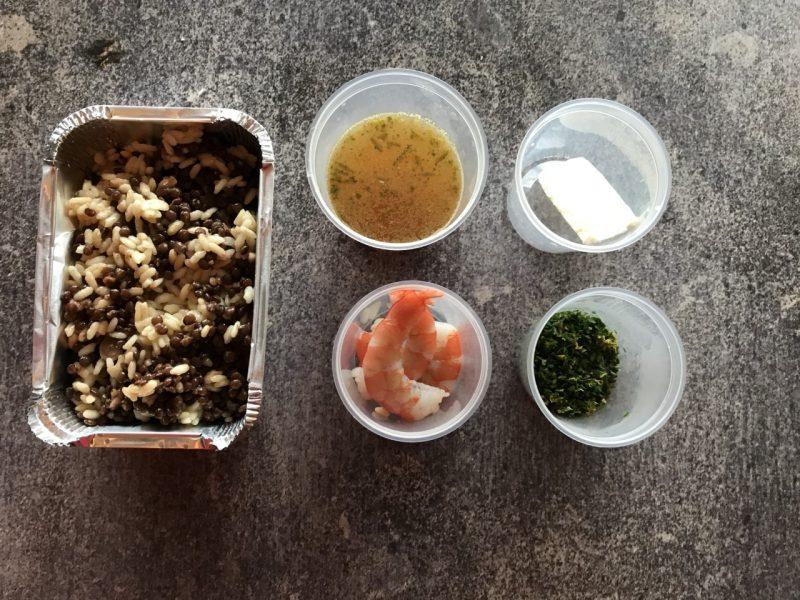 Grande Cucina per il delivery – Ricetta #1 – Risotto e lenticchie