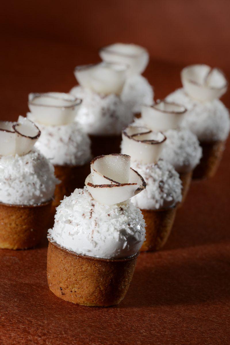 #lecoccolette: Tartellette cocco, lamponi e cioccolato