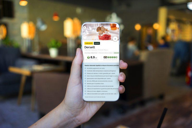 Su TheFork una nuova funzione per aggiornare gli utenti sulle norme anti-COVID nei ristoranti