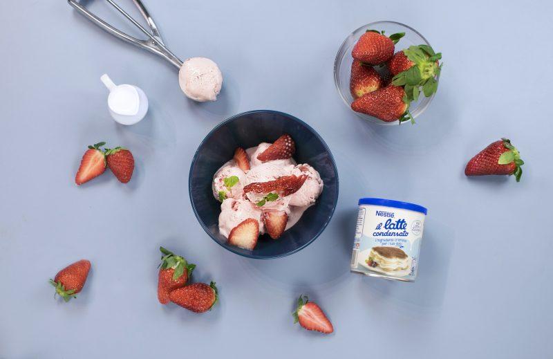 La ricetta del gelato naturale, da fare in casa con Nestlé