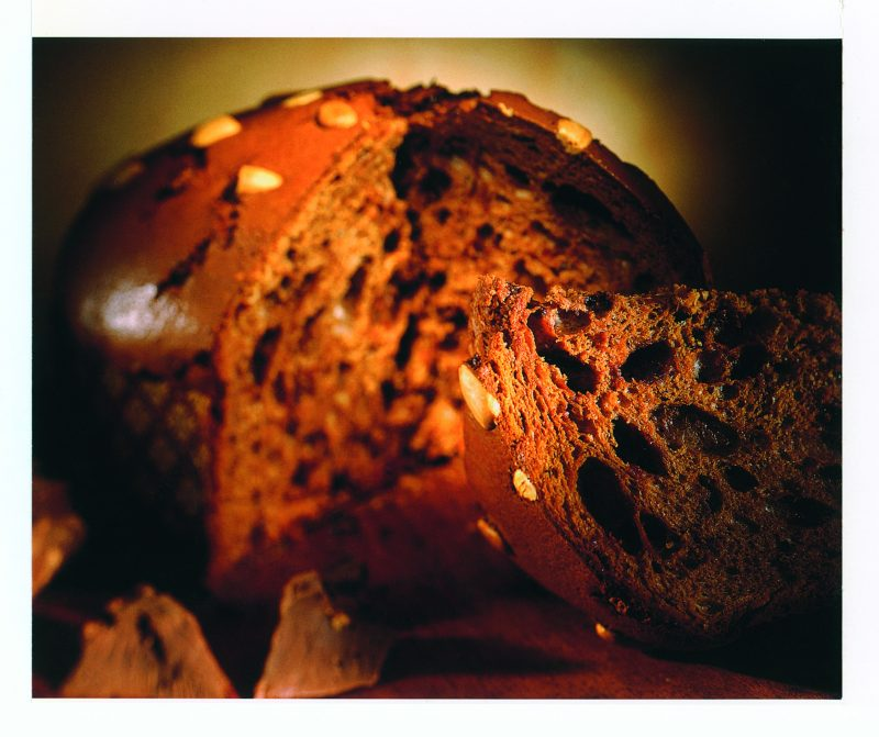 Panettone al cioccolato gianduia