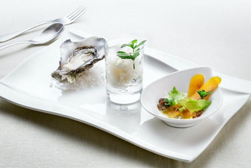 Ostriche e limone, bottarga e sedano, la ricetta dello chef Roberto Serra
