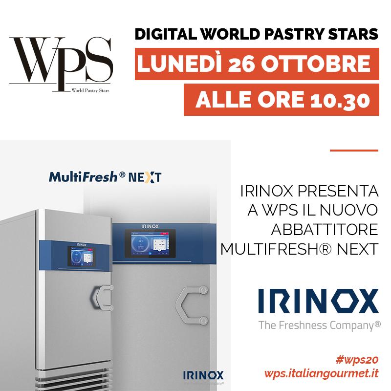 Irinox a WPS con MultiFresh® Next
