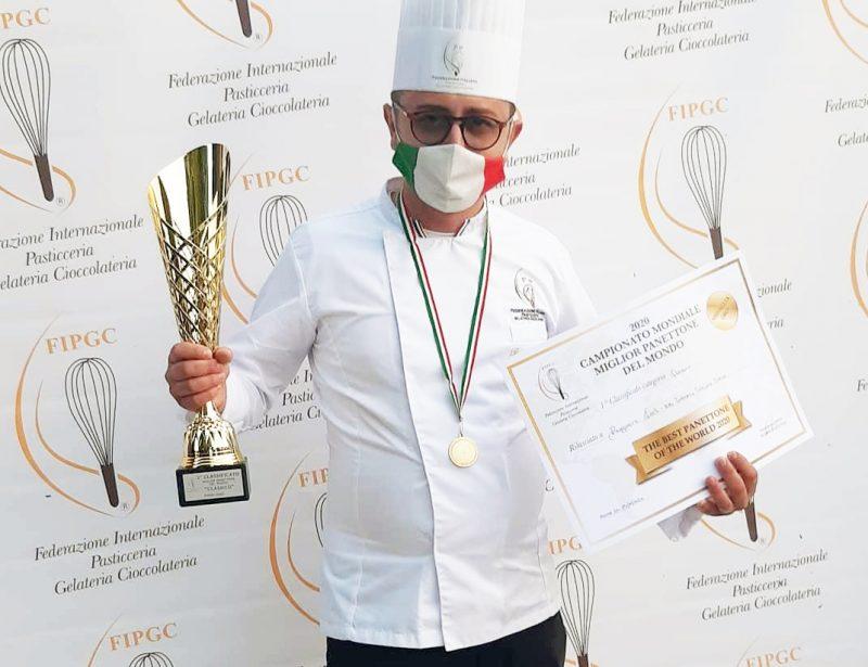 Oro a Ruggero Carli per il Miglior Panettone al mondo