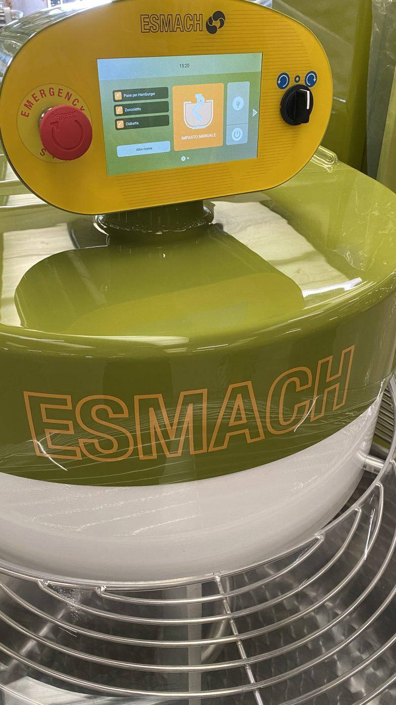 """SPI """"AI"""" di Esmach: l'impastatrice evoluta, intuitiva e smart"""