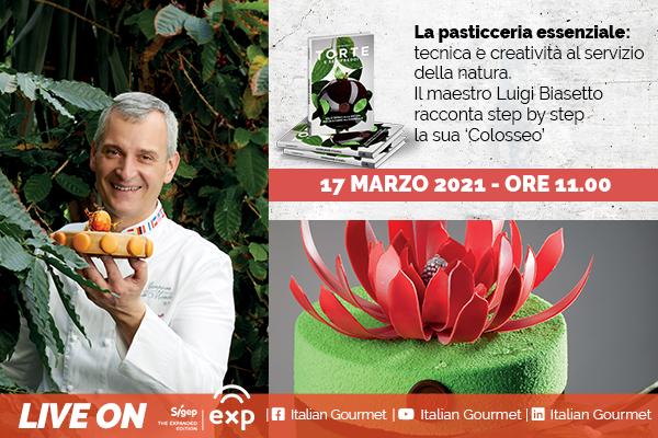 Italian Gourmet a Sigep Exp 2021: il terzo giorno si apre con Luigi Biasetto