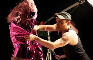 Lady Gaga Dom Perignon - Nicola Formichetti