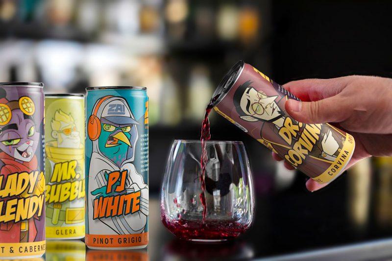 Il vino buono sta… in lattina