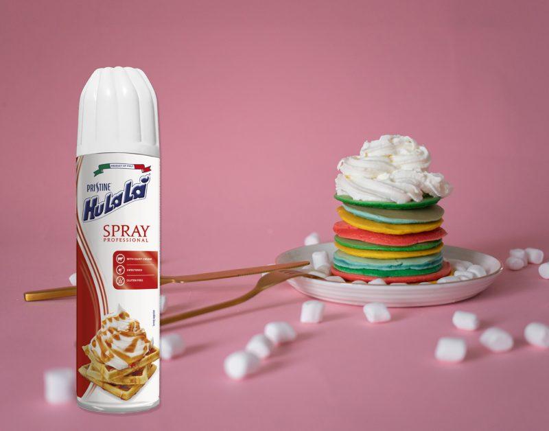 Con Hulalà Spray Professional, la crema vegetale diventa spray