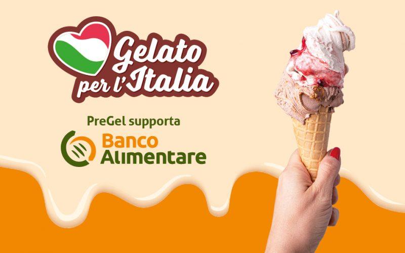 """Con Pre.Gel un """"Gelato per l'Italia"""""""