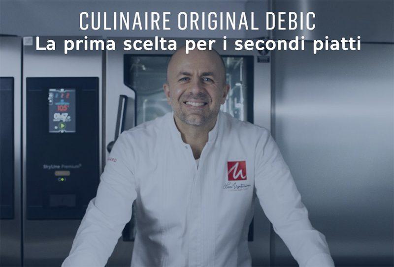 Secondi di carne e pesce: il ricettario di Luca Montersino con Culinaire Original di Debic Italia