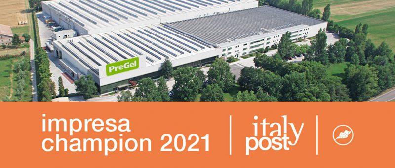 PreGel è fra le Imprese Top 2021
