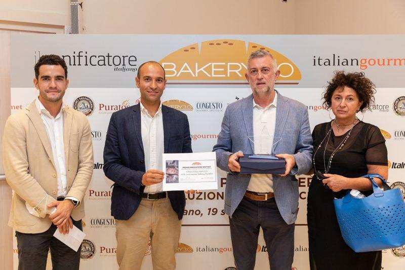 Bakery 3.0 Awards 2021. Il premio Innovazione Digitale al Panificio Sergio Monfrini consegnato da Puratos
