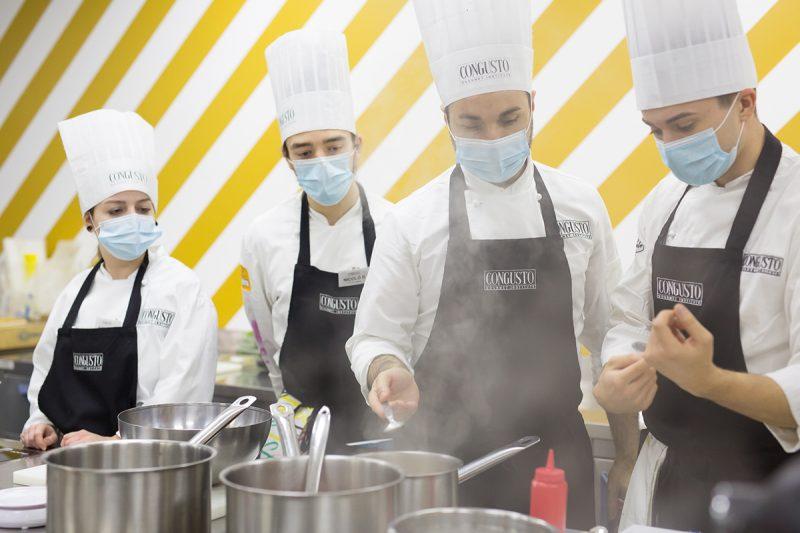 Formazione gastronomica: Congusto Gourmet Institute offre 40 borse di studio per chef e pasticceri