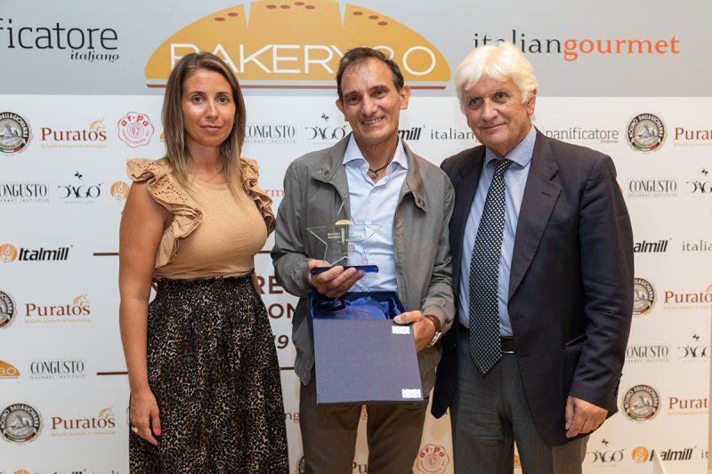 Bakery 3.0 Awards 2021. Il premio Sostenibilità all'Antica Forneria Molettieri consegnato da Molino Dallagiovanna