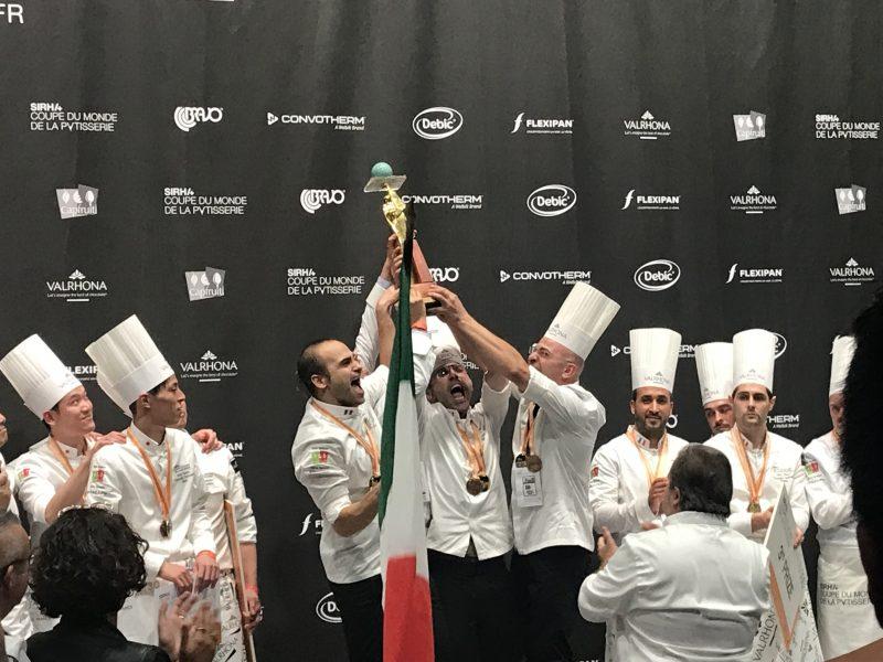 Italia Mondiale: è oro anche alla Coupe du Monde de la Pâtisserie